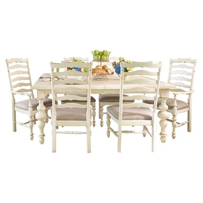 Paula's Extendable Dining Table Finish: Linen