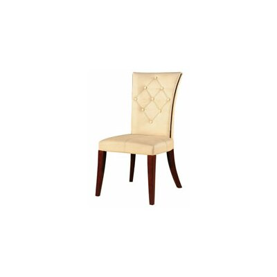 Leather Dining Chairs Real Wood Furniture