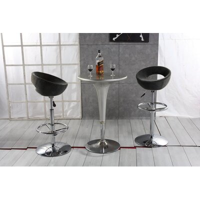 Easy financing Adjustable Planet Bar Stool in Blac...