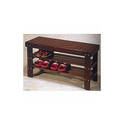 International Design Wooden Shoe Storage Bench at Sears.com