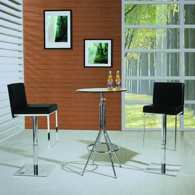 Rent Adjustable Air Lift Bar Stool in Bl...