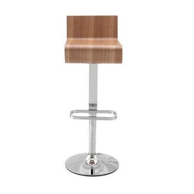 Financing Z-Style Adjustable Walnut Wood Bar ...