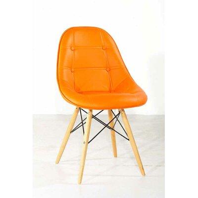 Buy Low Price International Design Gotham Side Chair Upholstery Orange Din