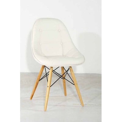 Lease to own Gotham Side Chair Upholstery: White...