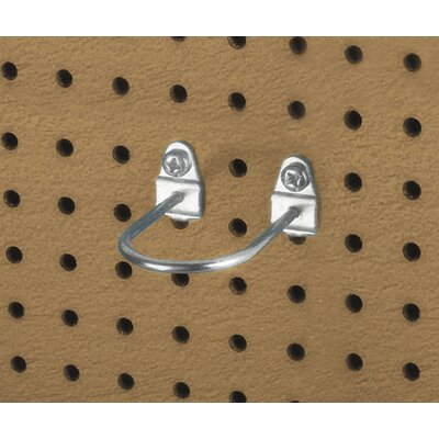 Triton Products DuraHook 2-7/8 In. L, 1-3/4 In. I.D. Zinc Plated Steel Double Mount U Shape Pegboard Hook for DuraBoard, 5 Pack at Sears.com