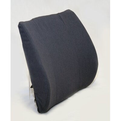 Premium Lumbar with Molded Fold Color: Navy
