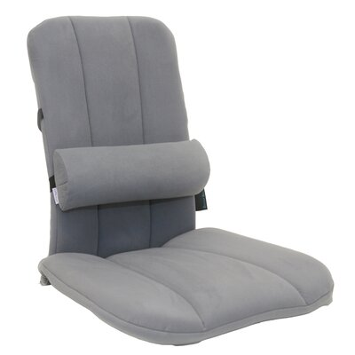 BetterBack with LumbiPad Back Support Color: Gray