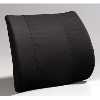 Premium Lumbar with Molded Fold Color: Black