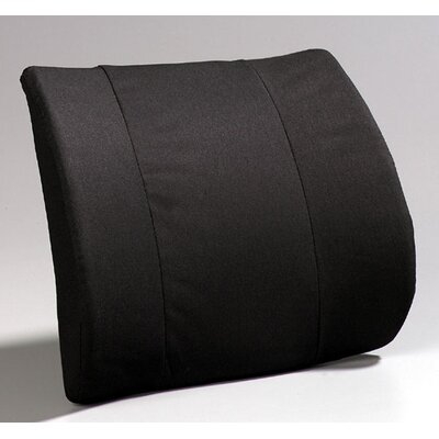 Premium Visco Lumbar Color: Black