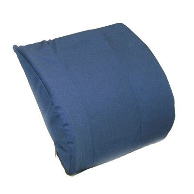 Trisectional Molded Lumbar Color: Navy