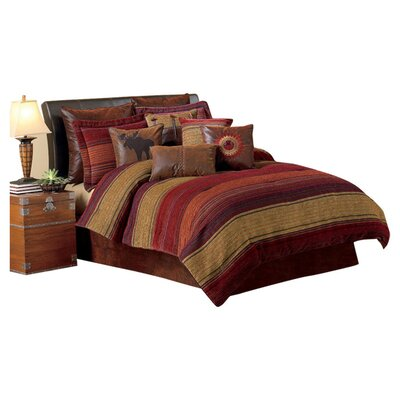 Plateau 4 Piece Comforter Set Size: California King
