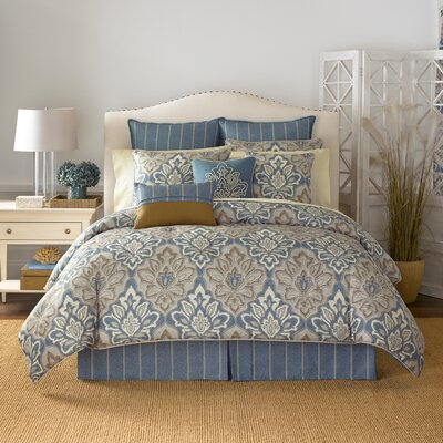 Captains Quarters Comforter Set Size: Queen