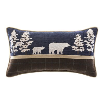 Clairmont Bear Lumbar Pillow