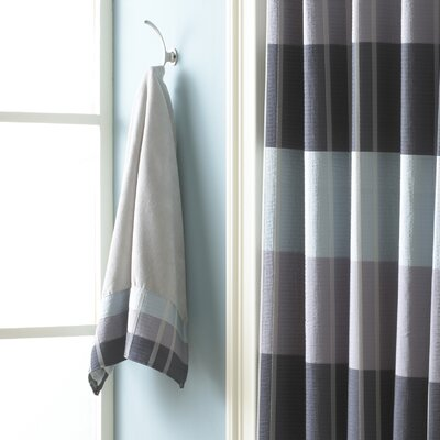 Fairfax Embel Fingertip Towel Color: Slate