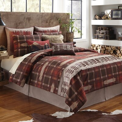 Wagner 4 Piece Comforter Set Size: Queen