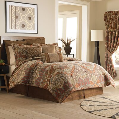 Salida 3 Piece Reversible Comforter Set Size: Queen