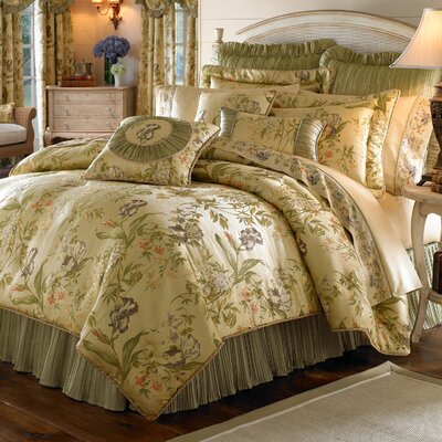 Iris Duvet Cover Size: King