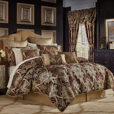 Bradney 4 Piece Comforter Set Size: King