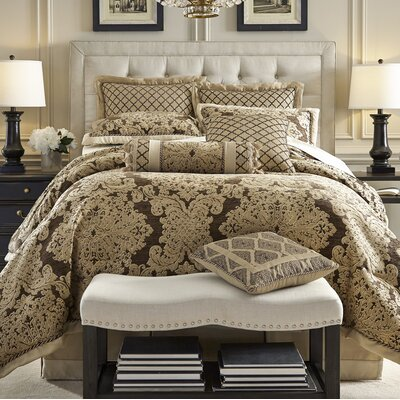 Sorina 4 Piece Comforter Set Size: King