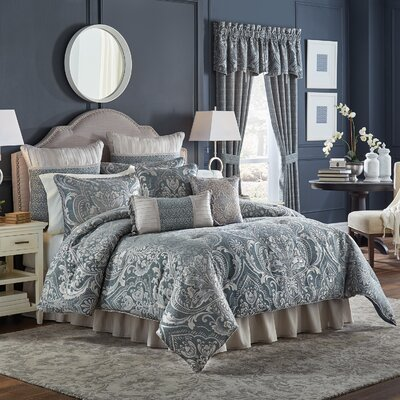Vincent 4 Piece Comforter Set Size: California King