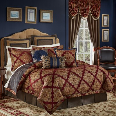 Sebastian 4 Piece Comforter Set Size: California King