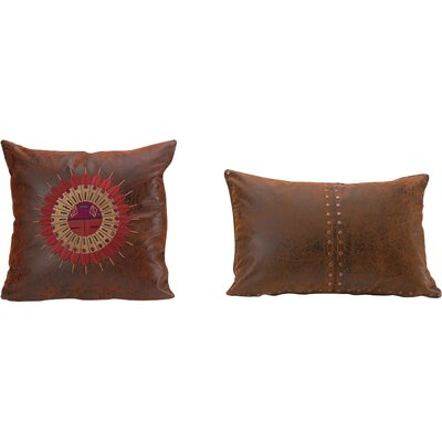 Plateau Leather Throw Pillow