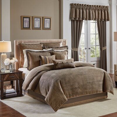 Benson 4 Piece Comforter Set Size: King