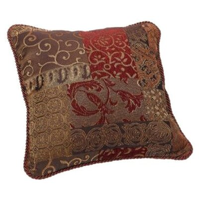 Galleria Square Polyester Throw Pillow