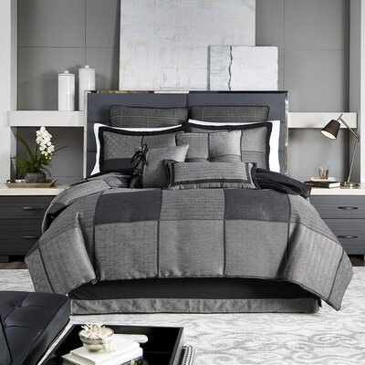 Oden 4 Piece Comforter Set Size: California King