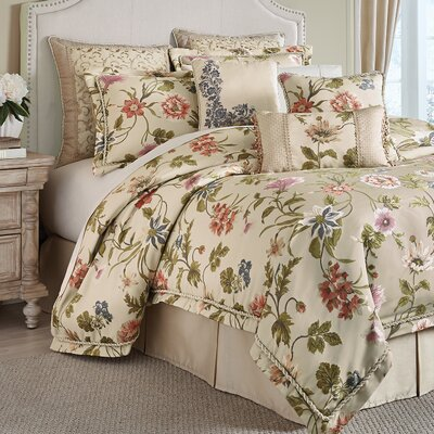 Daphne 4 Piece Comforter Set Size: Queen
