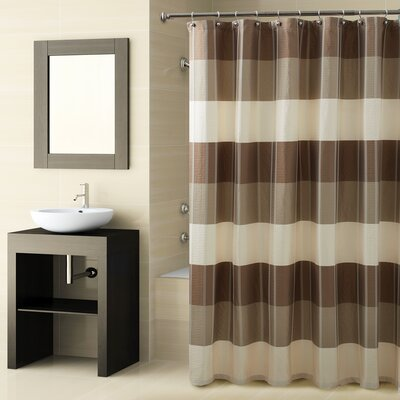 Fairfax Shower Curtain Color: Natural