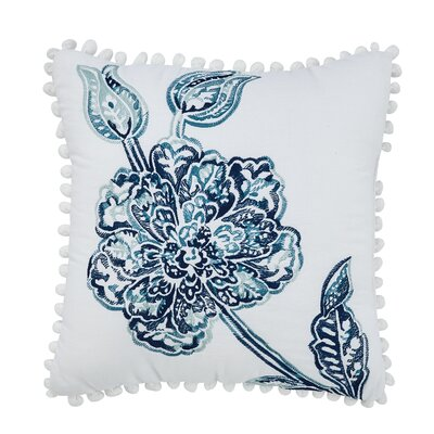 Clayra Decorative 100% Cotton Throw Pillow