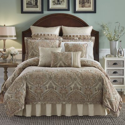 Birmingham 4 Piece Comforter Set Size: King