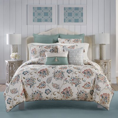 Beckett 3 Piece Comforter Set Size: King