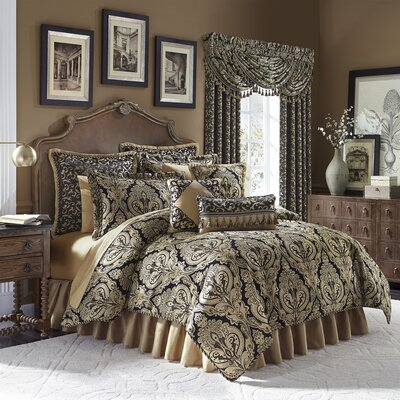Pennington 4 Piece Reversible Comforter Set Size: Queen