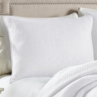 Crestwood Sham Size: King, Color: White