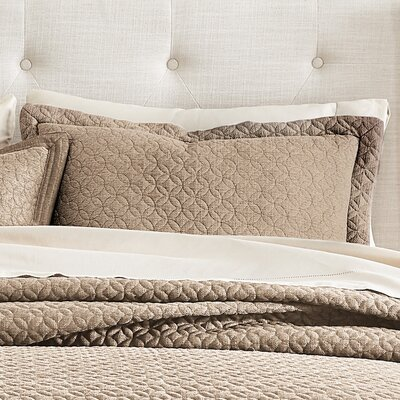 Fulton Sham Size: King, Color: Taupe