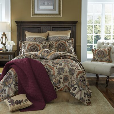 Callisto 4 Piece Comforter Set Size: California King