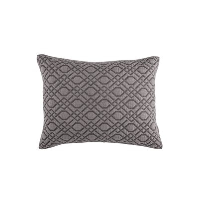 Alana Lumbar Pillow Color: Gray