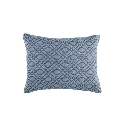 Alana Lumbar Pillow Color: Blue