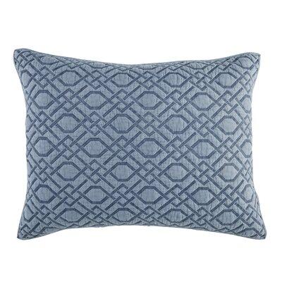 Alana Quilt Sham Size: Standard, Color: Blue