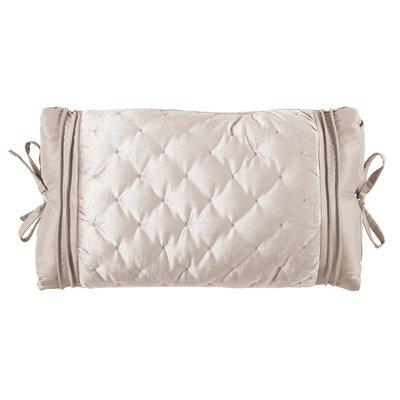 Carissa Tie Side Boudoir Pillow Color: Ivory