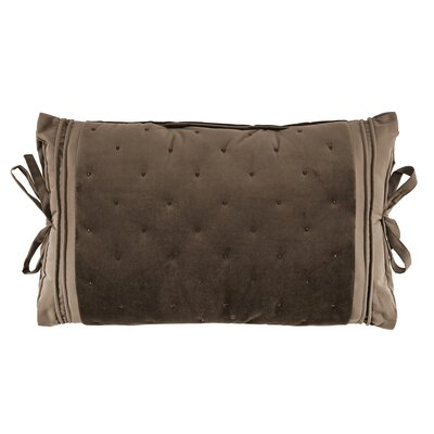 Carissa Tie Side Boudoir Pillow Color: Taupe