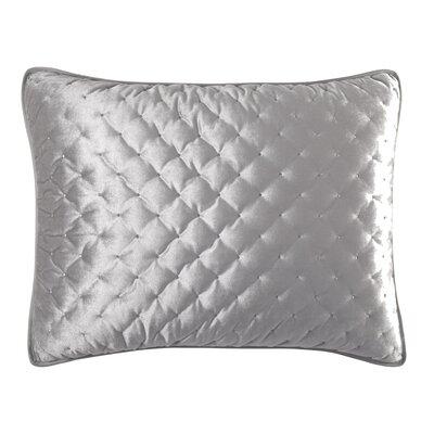 Carissa Sham Color: Silver, Size: Standard
