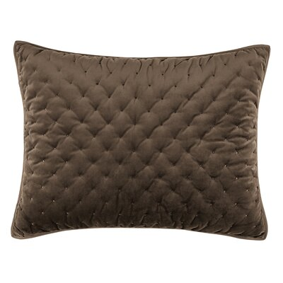 Carissa Sham Color: Taupe, Size: Standard