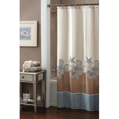 Shells Ashore Shower Curtain