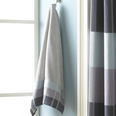 Fairfax Embel Hand Towel Color: Slate