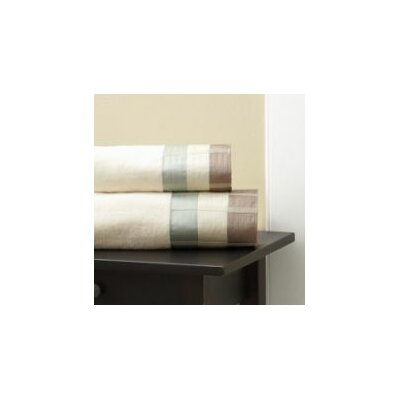 Fairfax Embel Hand Towel Color: Taupe