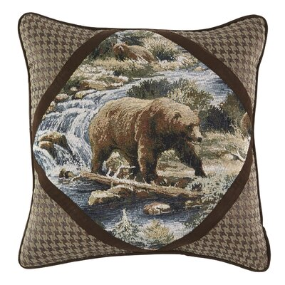 Kodiak Throw Pillow