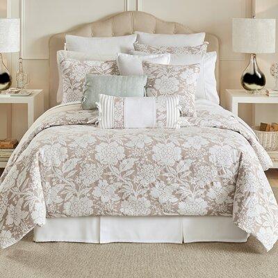 Nellie 4 Piece Reversible Comforter Set Size: King